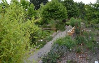 Botanischer Garten der Baumschule Hager