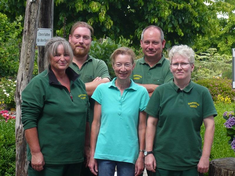 Team der Baumschule Hager