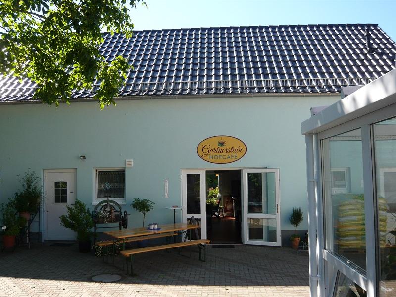 Hofcafé mit Eingang